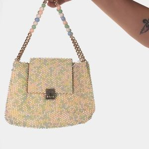 1950s Marcus Brothers Cotton Candy Hand Bag TPIB